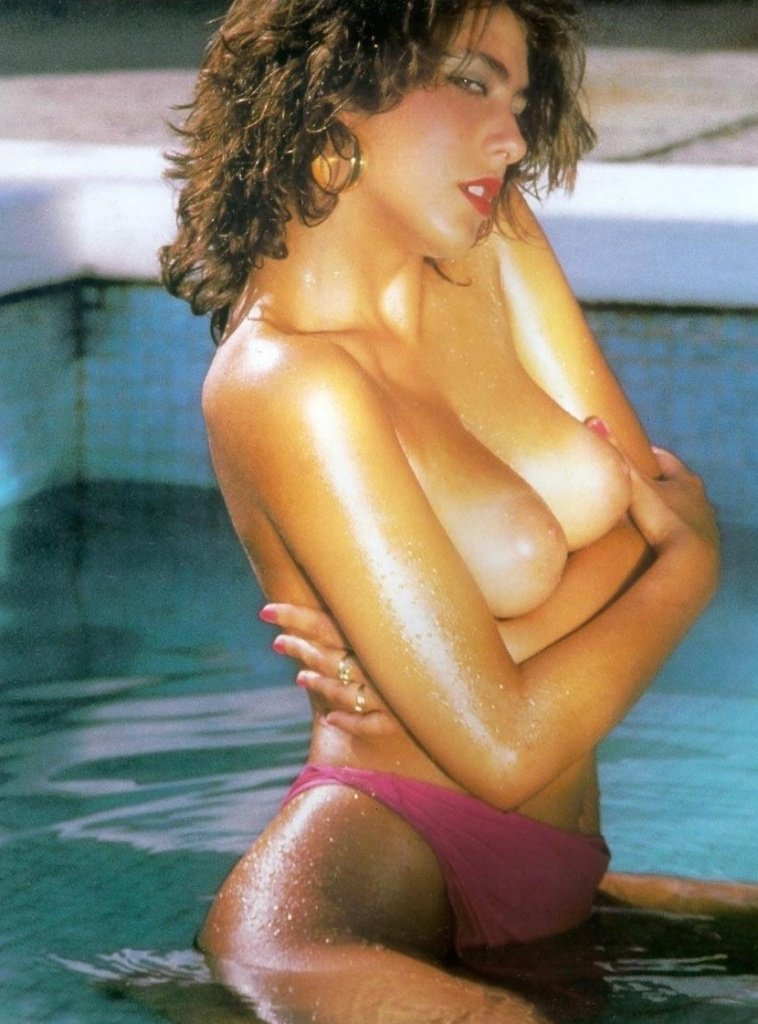 Vintage babe: Sabrina Salerno sexy fantasy from the past