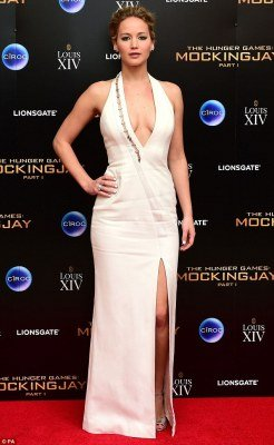 Jennifer Lawrence Hunger Games afterparty photo 2
