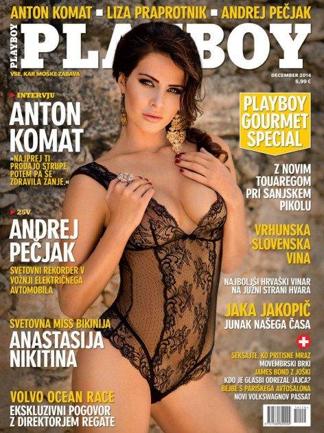 Beautiful Anastasia Nikitina naked in Playboy magazine photo 2