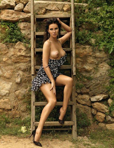 Beautiful Anastasia Nikitina naked in Playboy magazine photo 5