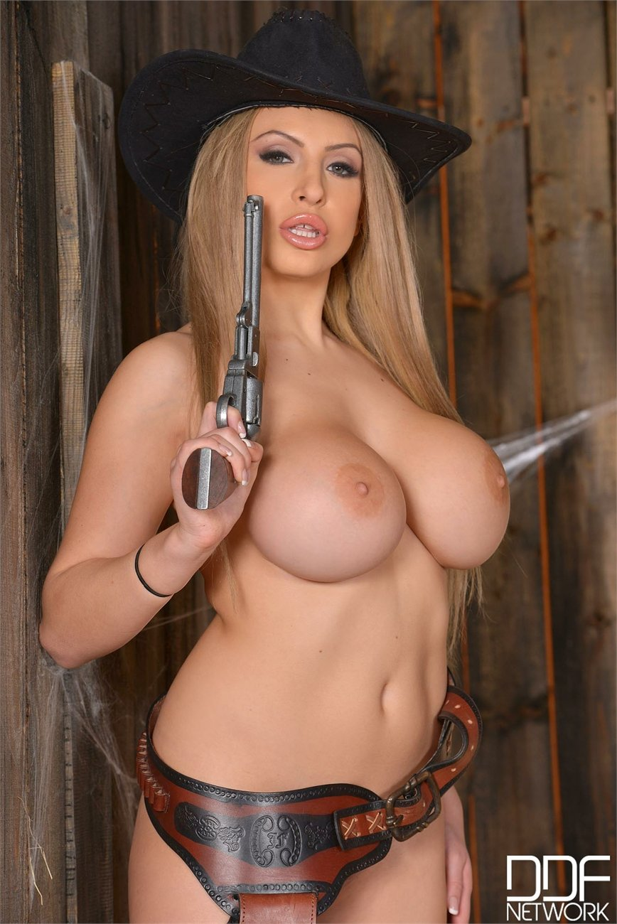Busty cowgirls nude congratulate, this