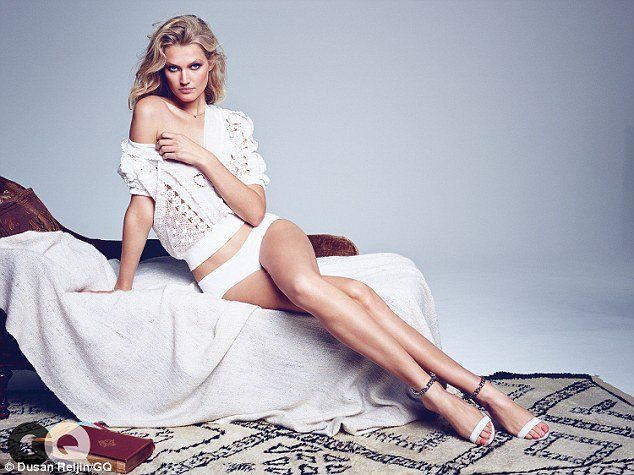 Toni Garrn GQ shoot