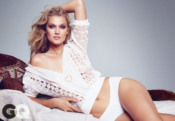 Toni Garrn GQ hot photoshoot
