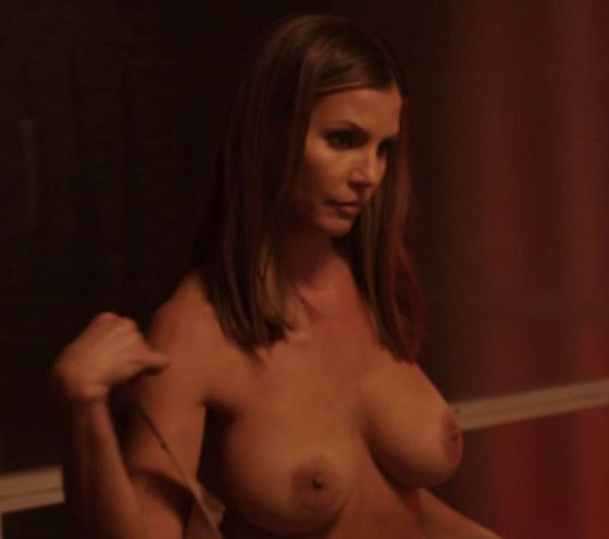 hot actress with impressive big tits in nude scene at film Bound
