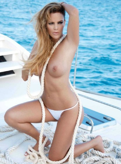 Mexican celebrity Aline Hernandex nake Playboy shoot pic 6