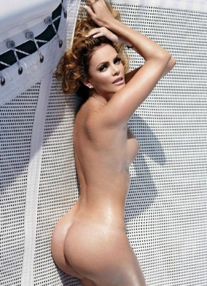 Mexican celebrity Aline Hernandex nake Playboy shoot pic 9
