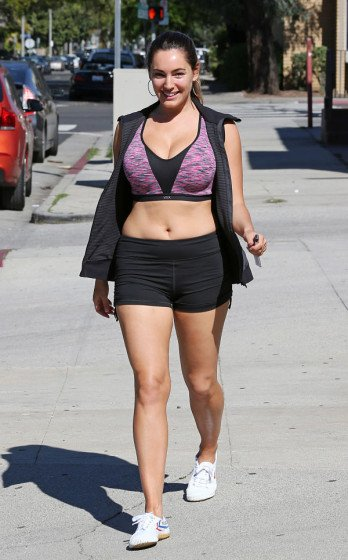 Kelly Brook leaving a Gym in L.A. photo 3