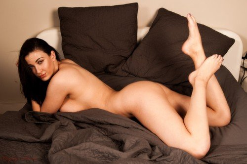 Joey Fisher naked on bed photo 3
