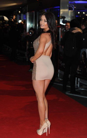 Jess Impiazzi hot ass in  tight sexy mini dress