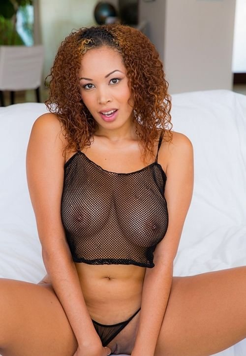 sexy-fishnet-reveals boobs-photo 18