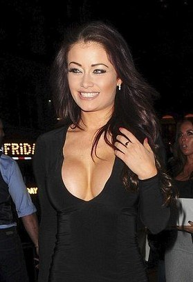 Ex On The Beach's Jess Impiazzi boobs in sexy tight dress