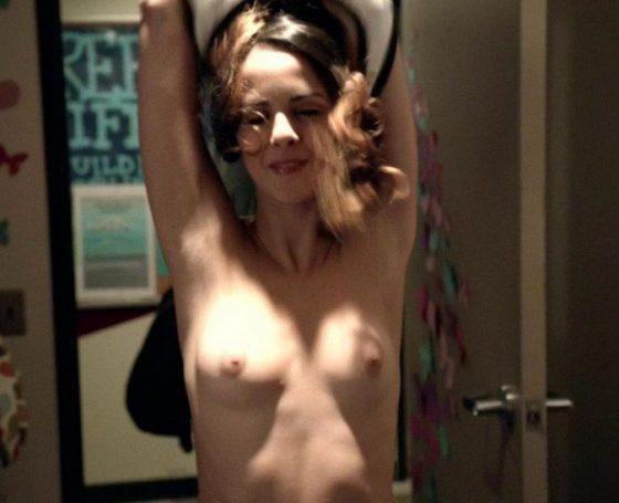 Israeli young actress Shani Atias topless on Shamless