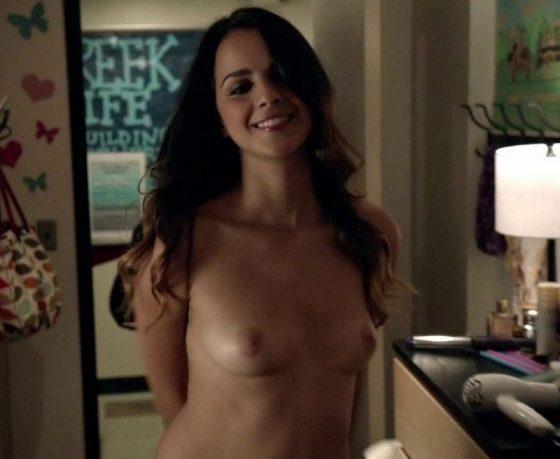 Israeli young actress Shani Atias shows naked tits on Shamless