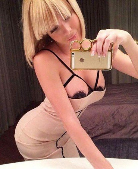 Ukrainian beauty sexy selfie