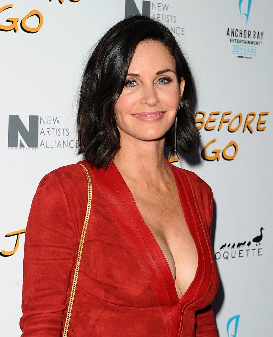 Courteney Cox looking impressive