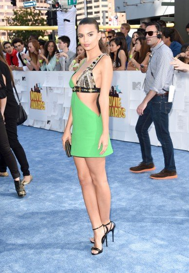 Emily Ratajkowski MTV Movie Awards 2015