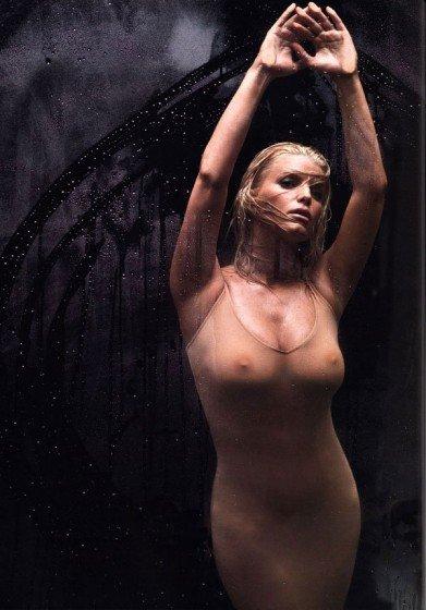 Jessica Simpson see-htrough bodysuit