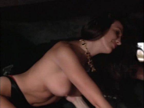 Krista Allen topless scene in Raven