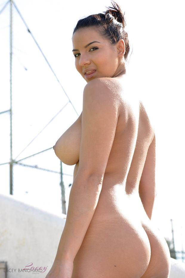 Lacey Banghard naked ass and tits photo