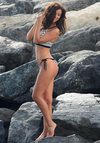 Lucy Mecklenburgh hot bikini pose