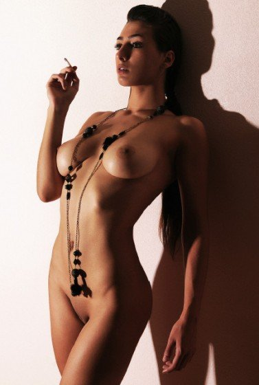 Jessica Tomico naked French glamour model