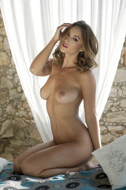 naked page 3 girl Rosie Jones
