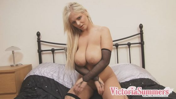 busty Victoria Summers naked video shot