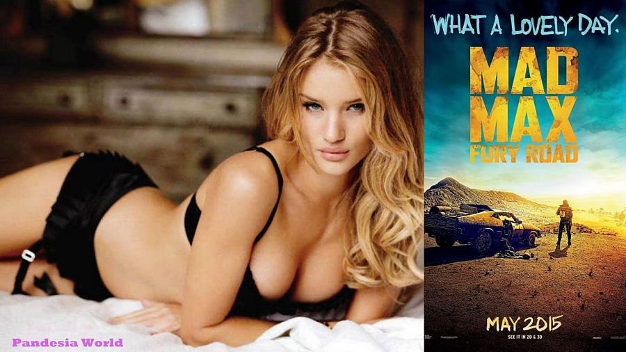 Mad Max's hot girl poster