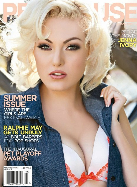 Pet of the month Jenna Ivory Penthouse June 2015