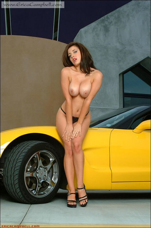 Busty nude girls and cars seems me
