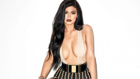Kylie Jenner sexy in Galore Magazine