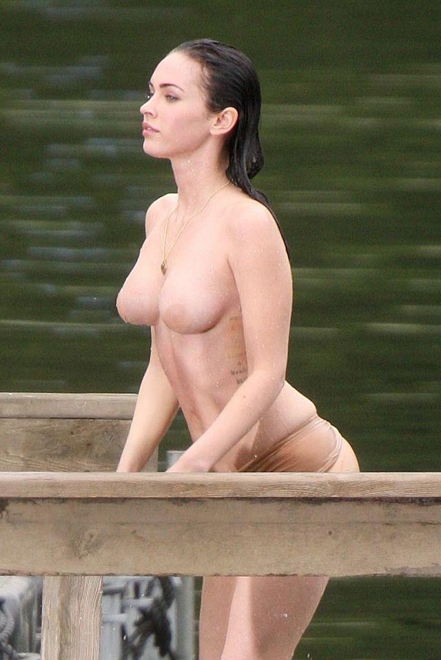 Megan Fox topless on 'Jennifer's Body'- pic 1