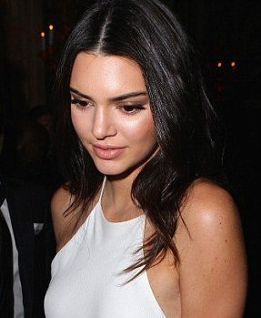 Kendall Jenner hot white dress