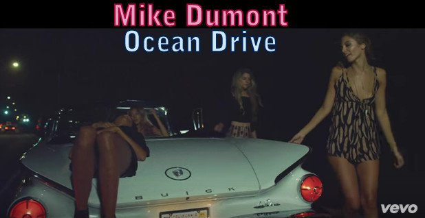 Mike Dumont Ocean Drive poster