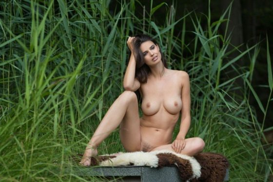 Femjoy Jasmine A nude deep in the forest