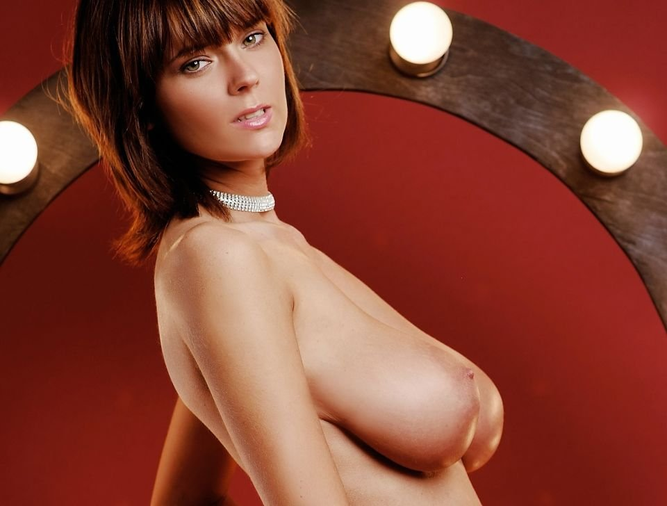 Busty beauty Gabreille naked