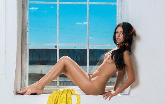Beautiful girl Kara nude posing by MPL-Studios