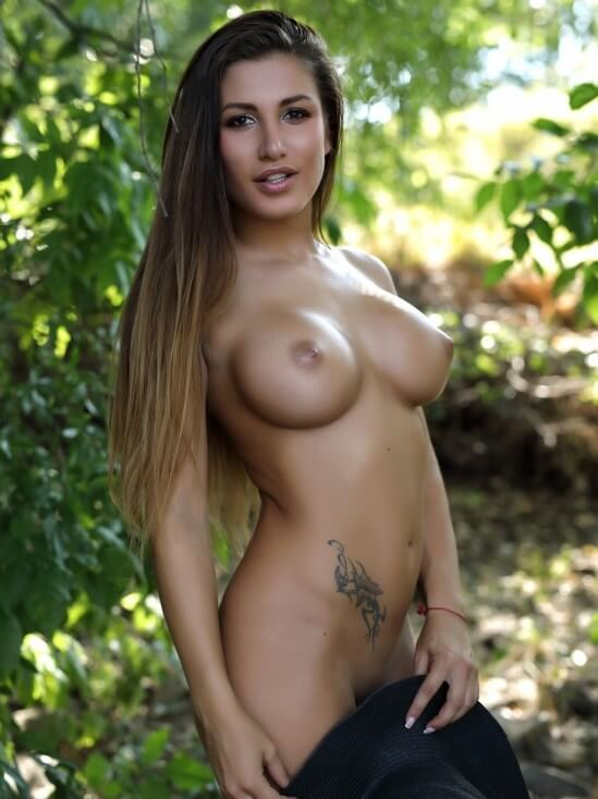 Allison nude model with big tits