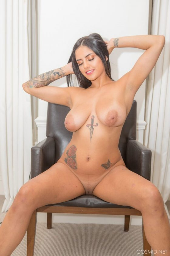 Busty tattooed babe mila milan first monster cock ggg - 1 part 5