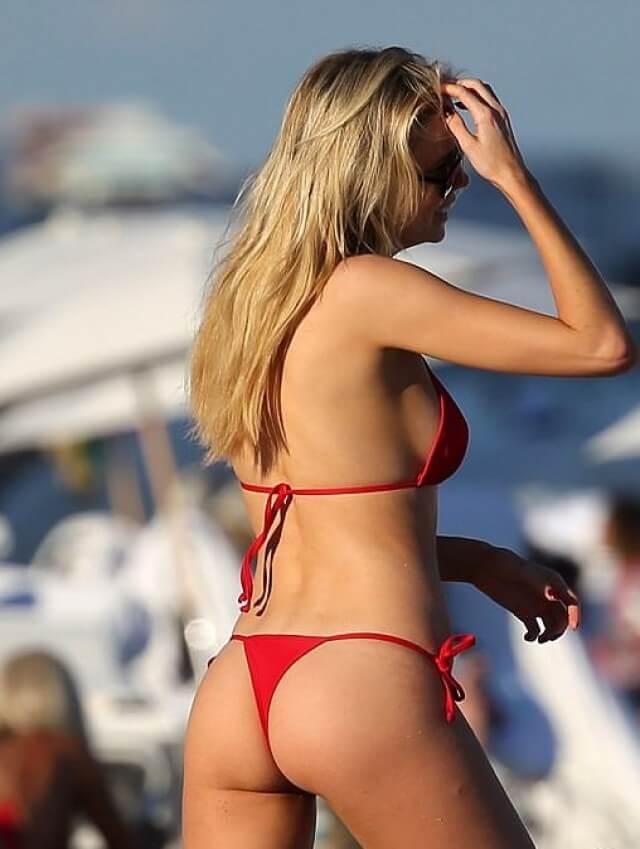Louisa Warwick ass bikini thong