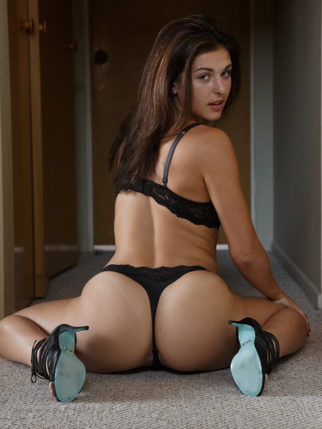 big ass in thong sexy babe