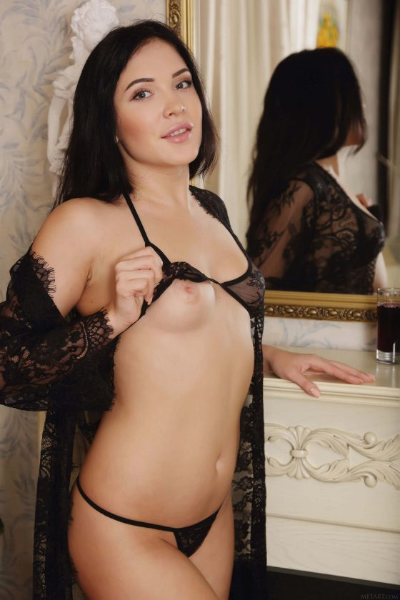 erotic girl Black fox nude 2