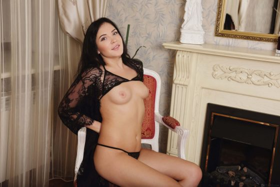 erotic girl Black fox nude 3
