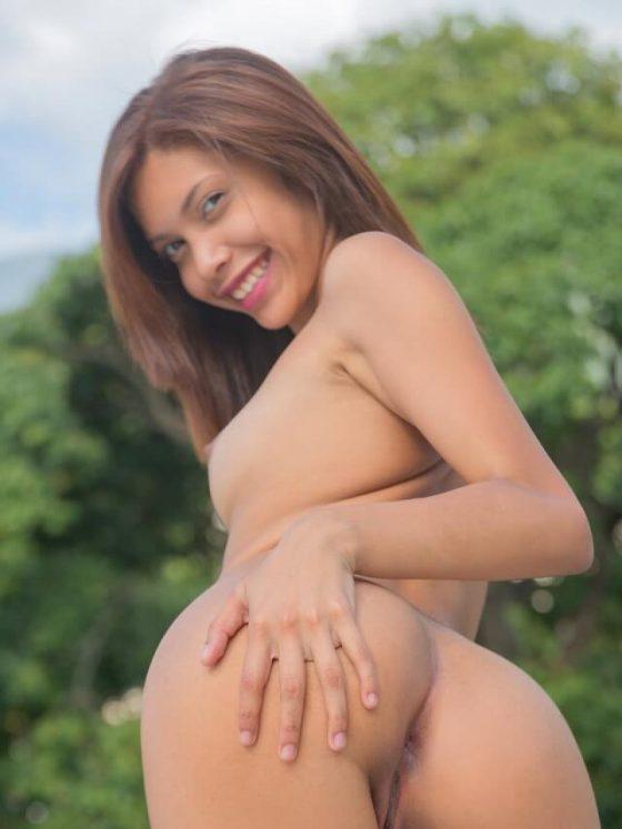 New Talent Katy Alvarez is going horny!