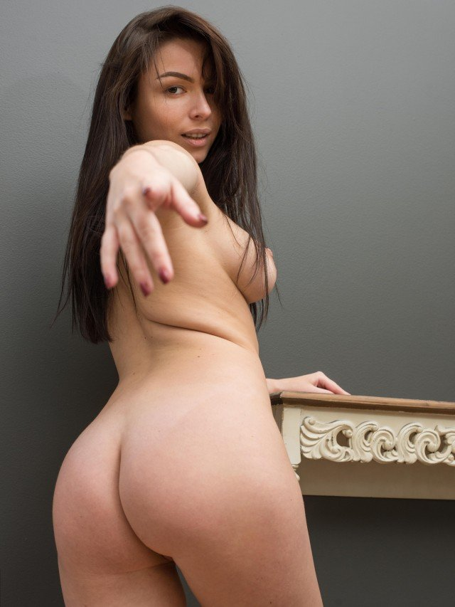 Marina R naked ass and tits