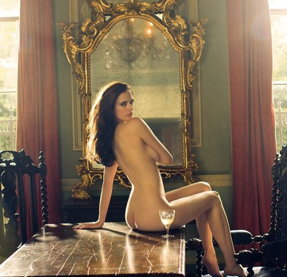 French hot actress nude art pose