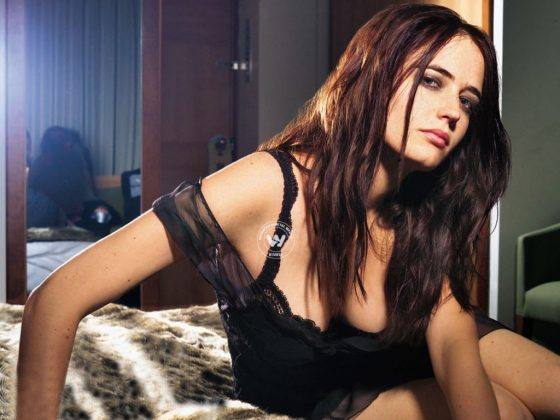 Eva Green seductive model