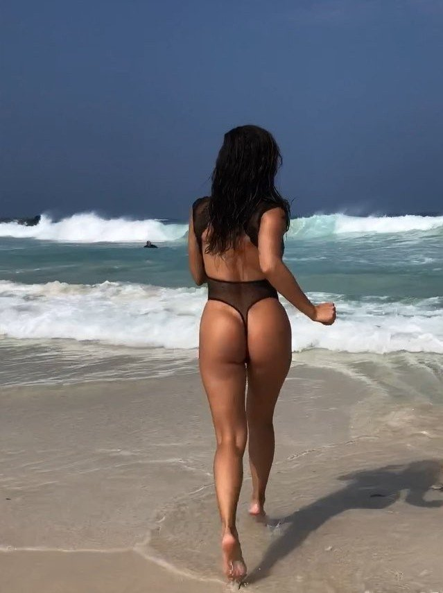 Ana Cheri with sexy swimsuit
