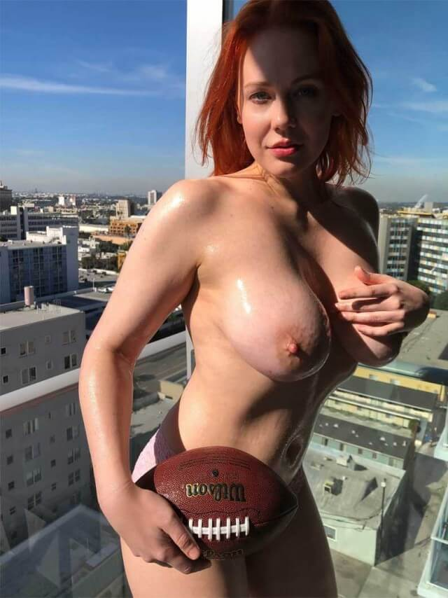 Maitland Ward is the Super Bowl Naked Girl
