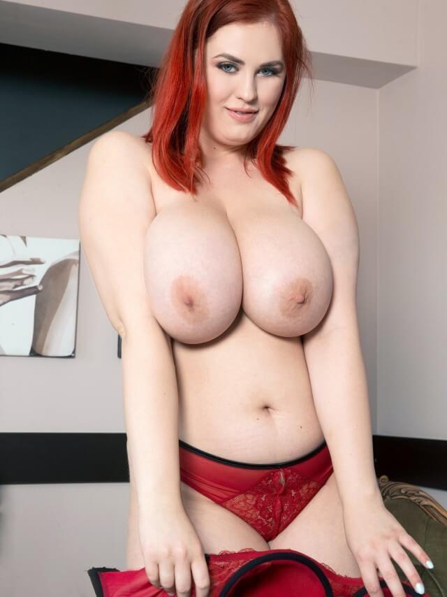 Alexsis Faye topless huge tits model
